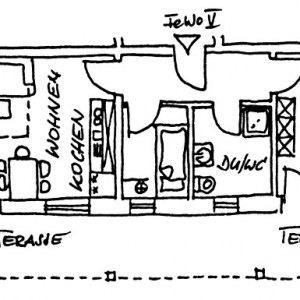 Wohnung 5 - Skizze